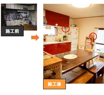 キッチン配線計画