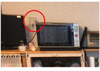 家電専用回路新設