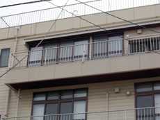 事務所外壁before