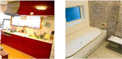 キッチン改装と浴室改装