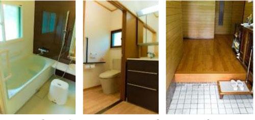 浴室・洗面・トイレ・廊下工事