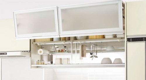 キッチン収納吊り戸棚